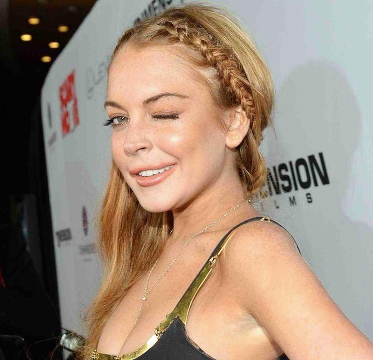 Lindsay Lohan sex list