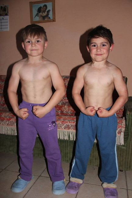 These two child bodybuilders are an internet sensation.