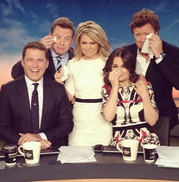 channel 9 news today. breaking news: one of our favourite today hosts quits the show. channel 9 news today a