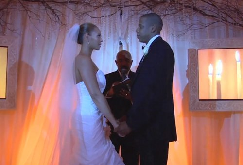 jay z and beyonce wedding video