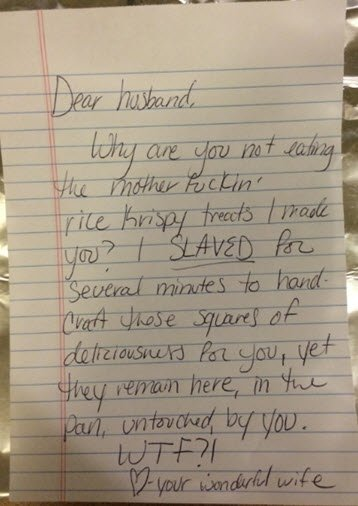 Best Love Note Ever