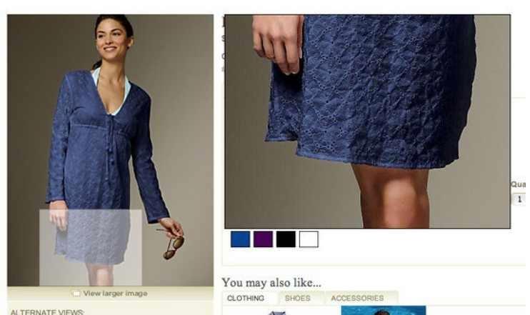 Online store photoshop fail