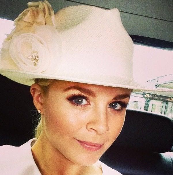 Emma Freedman for David Jones. Now *this* is a sensible hat.