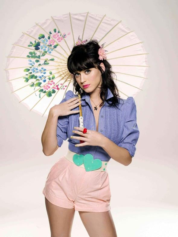 Katy Perry performing in Brisbane