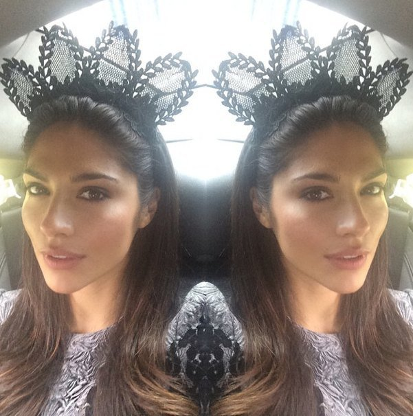 Pia Miller. How embarrassing. Her sister wore the same thing.