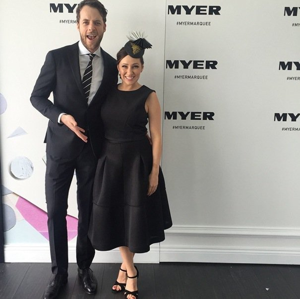 Hamish Blake and Zoe Foster-Blake. Stop being so adorable.