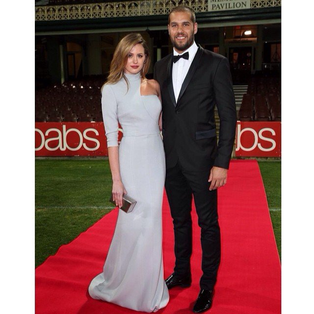 Jesinta Campbell and Buddy Franklin