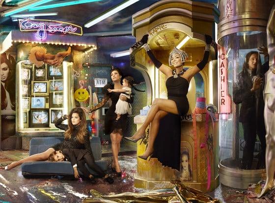 The 2013 Kardashian-Jenner Christmas Card.