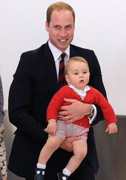 via Prince George of Cambridge Facebook