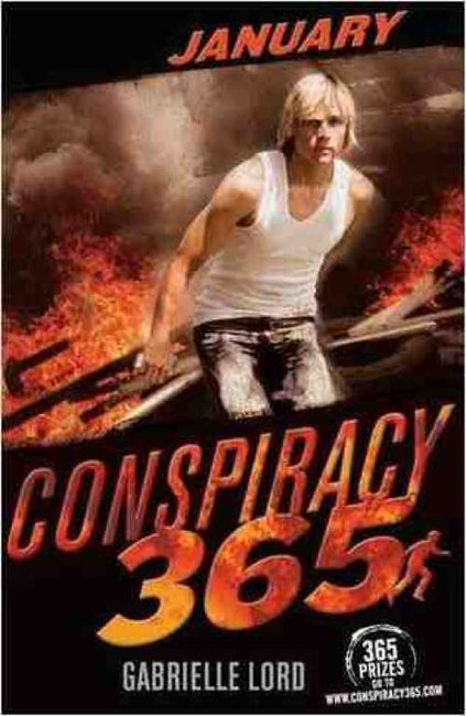 Conspiracy 365 Code Black: January - Gabrielle Lord