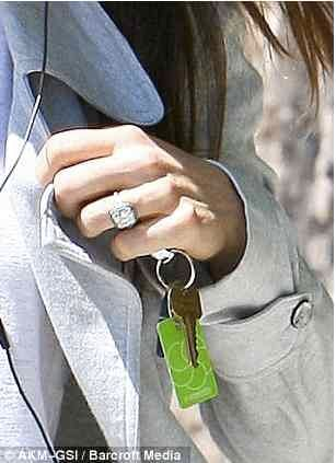 Mrs Timberlake and her ring