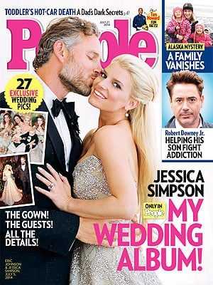 Jessica Simpson was married to husband Eric Johnson in July this year.
