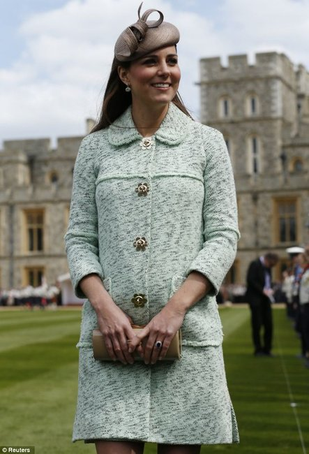 Kate Middleton at a Scouts ceremony at Windsor Castle
