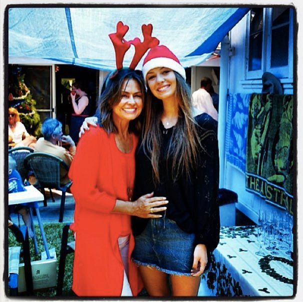 Lisa Wilkinson had an enjoyable day with her family.