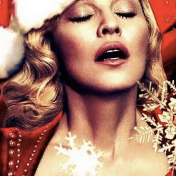 Madonna was, umm, festive - as usual.