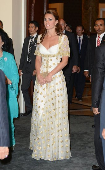Kate Middleton in the Alexander McQueen gown everyone's talking about.