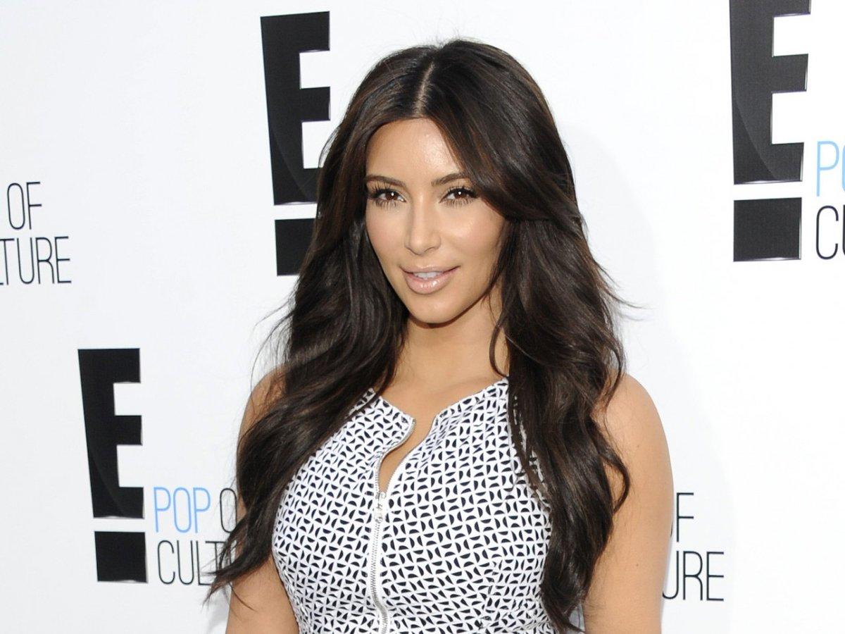 Kim at the People's choice awards 2012