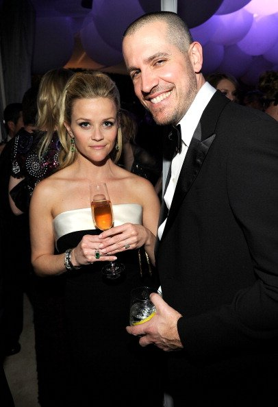 Reese Witherspoon with husband Jim Toth