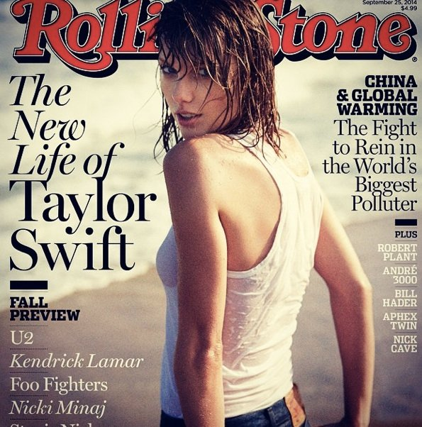 On the cover of Rolling Stone in 2013