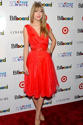Taylor Swift at the 6th Annual Billboard Women in Music Awards in 2011