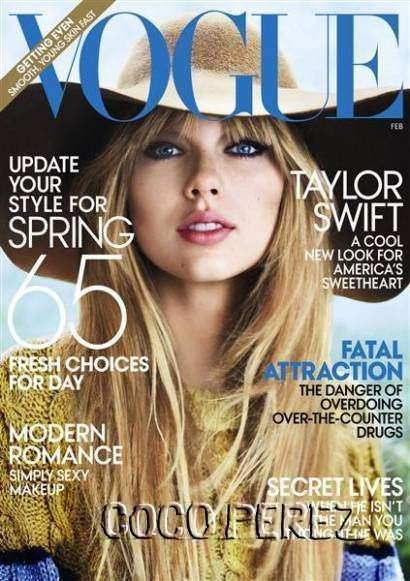 Taylor Swift for Vogue 2013