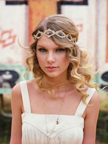 A Sony music shot of Taylor Swift in 2010