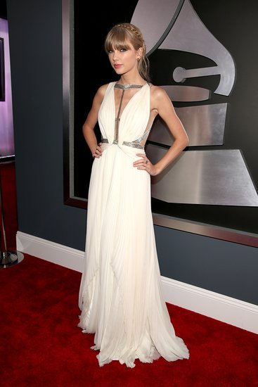 Taylor Swift at the Grammys 2013