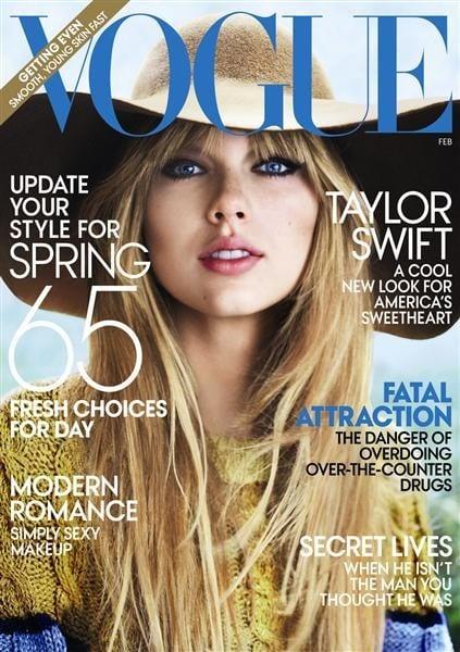 A 2012 Vogue cover