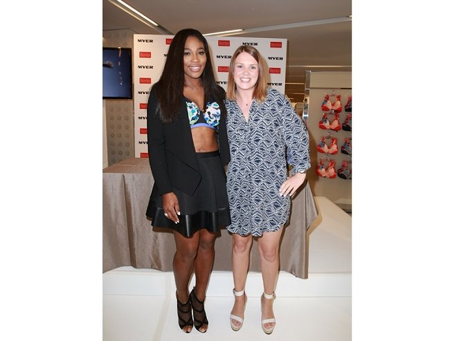 serena williams interview