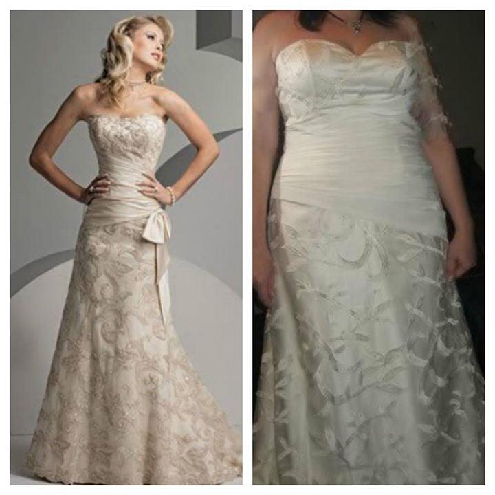 Buying a wedding dress online