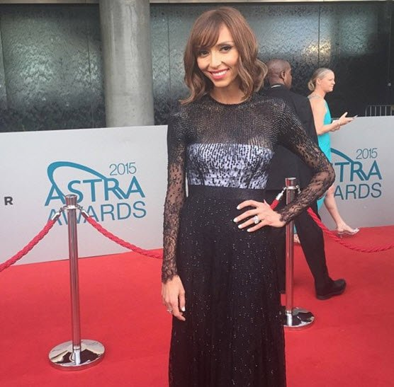 2015 ASTRA Awards red carpet.