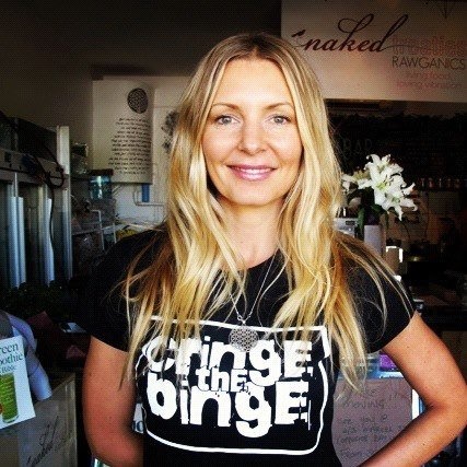 Jemma Gawned from Big Brother is now a raw food guru.