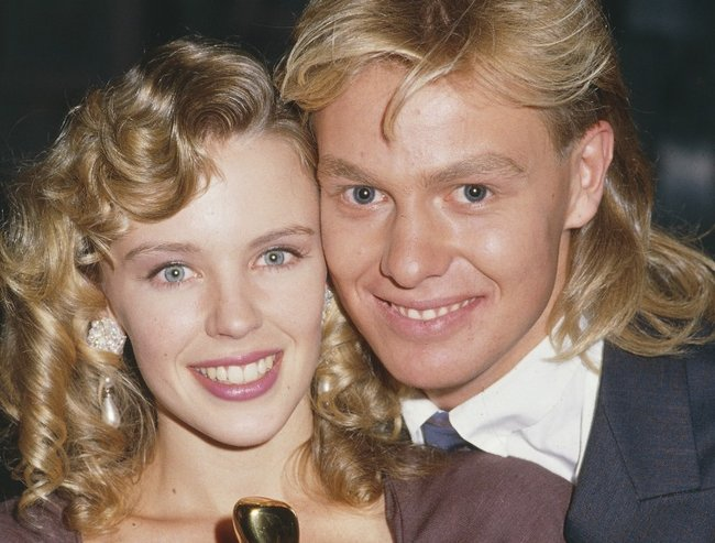 Kylie Minogue and Jason Donovan