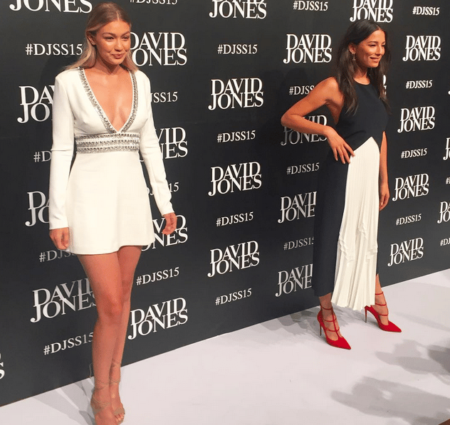 david jones spring summer launch