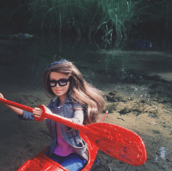 Hipster Barbie quit instagram