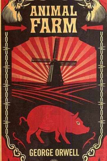 literary analysis of the book animal farm by george orwell George orwell first published in  and not an animal on the farm had stolen so much as a  most of animal farm was within their view — the long pasture.