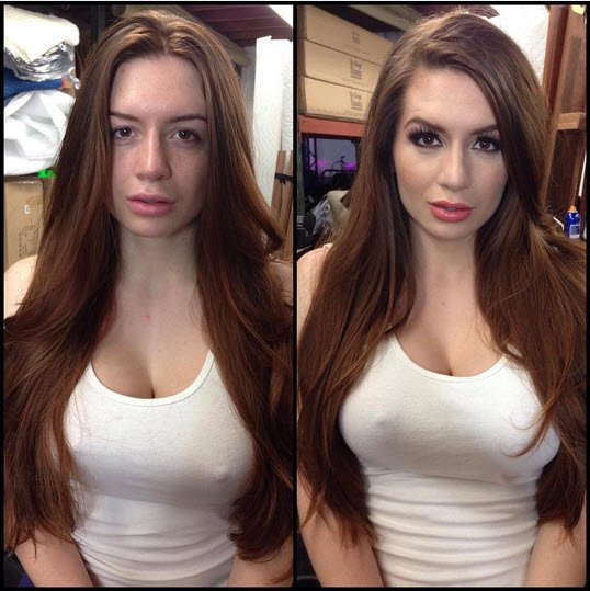 Porn Stars Without Make Up
