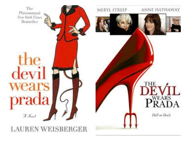 """the devil wears prada movie book differences """"the devil wears prada"""" is fans of """"the devil wears prada"""" film and book couldn't be more there's another movie-turned-broadway-production to."""