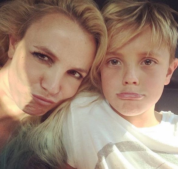 britney spears post natal depression