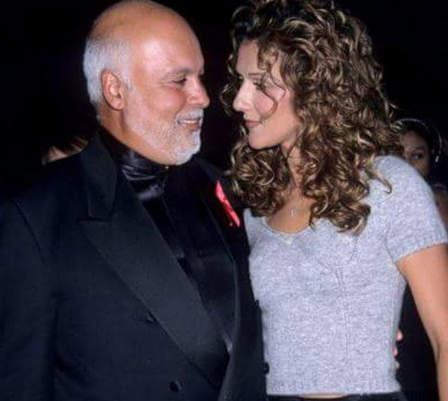 The Celine Dion Husband Cancer Tribute Is Heartbreaking