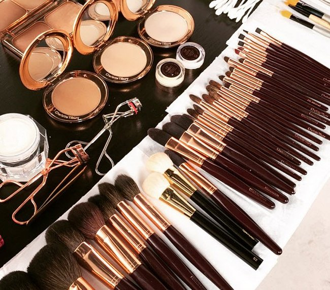 charlotte tilbury brushes