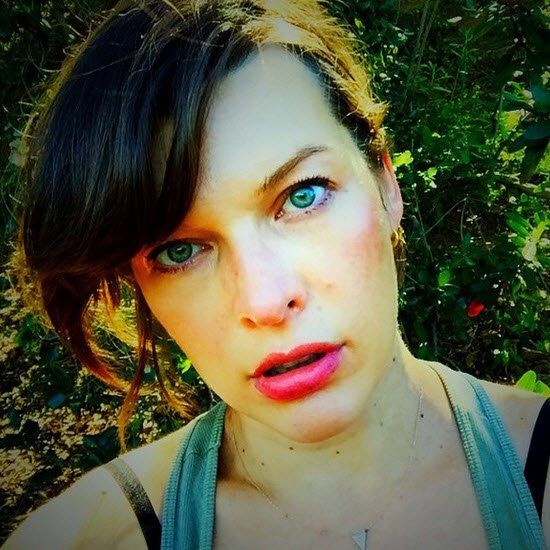 There's more than two ... Milla Jovovich Instagram