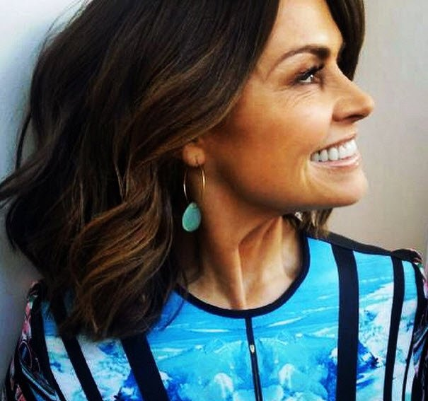 lisa wilkinson eyebrows