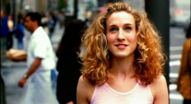 carrie-bradshaw curly hair