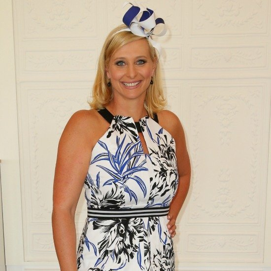 Johanna Griggs at the Melbourne Cup 2014
