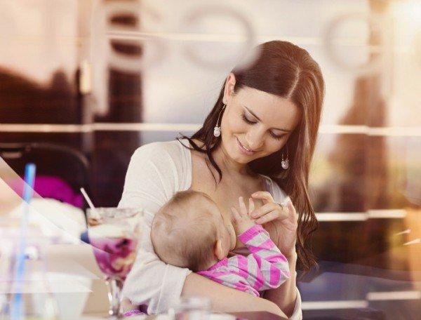 30787c67f Being a breast feeding mother limits what you can wear. Image  istock