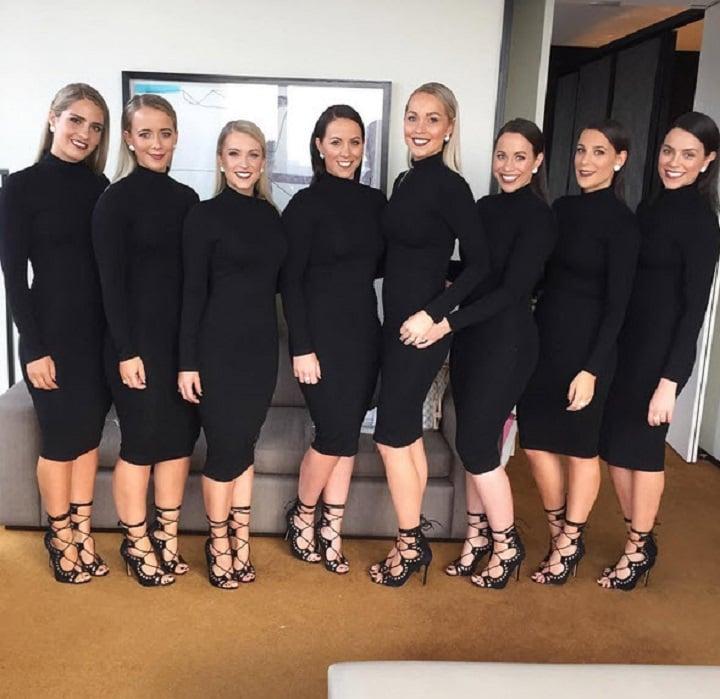 Why one bride decided on wearing a black wedding dress.