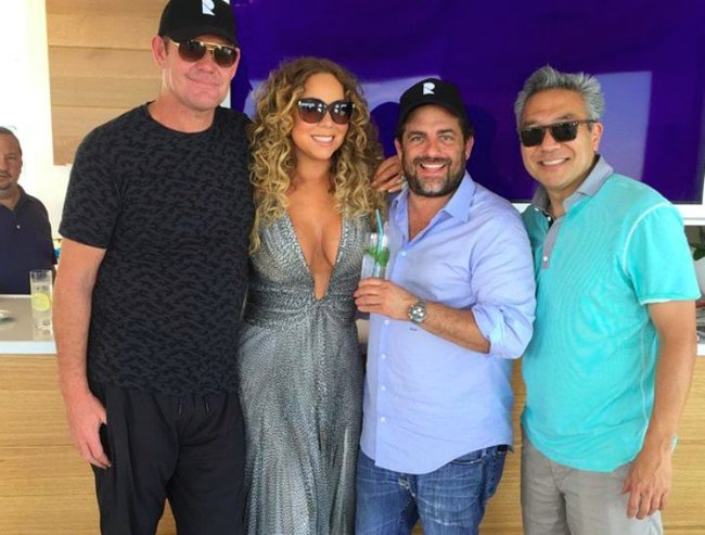 From Our Partner Mariah Leaving Italy With James Packer