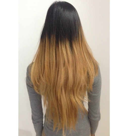 The Transformation From Two Toned Hair To Balayage That
