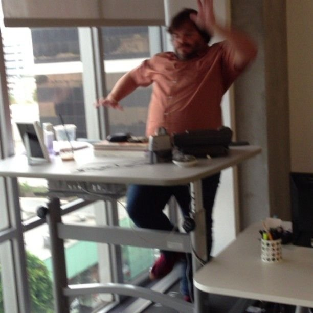 Forget Standing Desks You Need A Human Hamster Wheel
